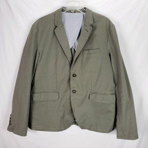 Frank & Oak Cotton Jacket Blazer Sport Coat 42